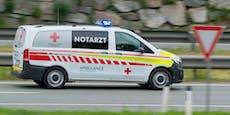 Lenker tot nach 400-Meter-Sturz mit Auto auf Skipiste