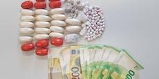 Paar hortete Drogen und 19.000 € in Innenstadt-Geschäft