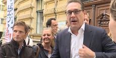 """Strache wittert """"Impfzwang und totalitäre Strukturen"""""""