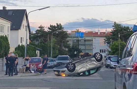 In Wien kam es zu einem Unfall.