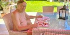 """Lugner im Urlaub: """"Pikant lieb ichs nicht nur am Brot"""""""