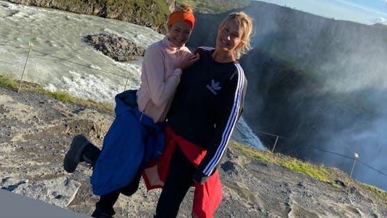 Sarah Connor und ihre jüngere Schwester Marisa touren derzeit mit einem Wohnmobil durch Island