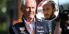 Red Bull sauer über Strafe für Mercedes-Star Hamilton