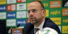 """Rapid-Boss: """"2020 wohl keine Fans mehr im Stadion"""""""
