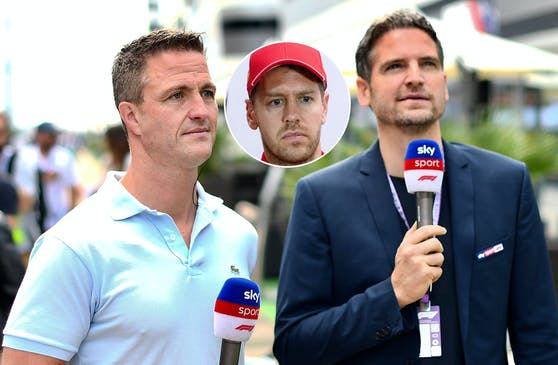 TV-Experte Ralf Schumacher (l.) teilt gegen Vettel aus