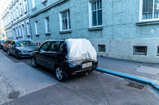 In der Linzer City wurden 21 Autos beschädigt.