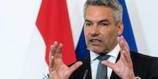 Nehammer vermutet Einfluss der Türkei bei Demos in Wien