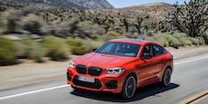 Groß, hoch und trotzdem sportlich: Der BMW X4 M im Test