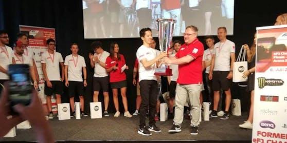 Der Tiroler Dominik Hofmann holte sich im Vorjahr den Formelaustria eF1 Titel.