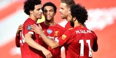 Liverpool erkämpft den ersten Sieg als England-Meister