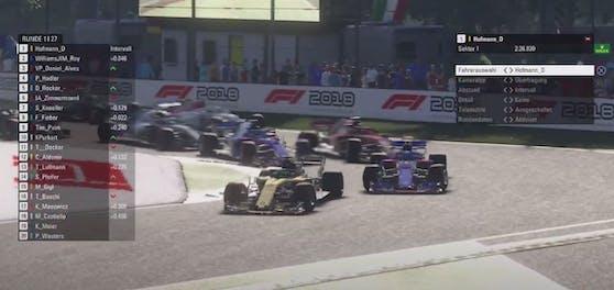 Vierkampf um den Titel in der Formelaustria eRacing Championship