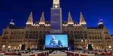 Christoph Waltz eröffnete Film-Festival am Rathausplatz