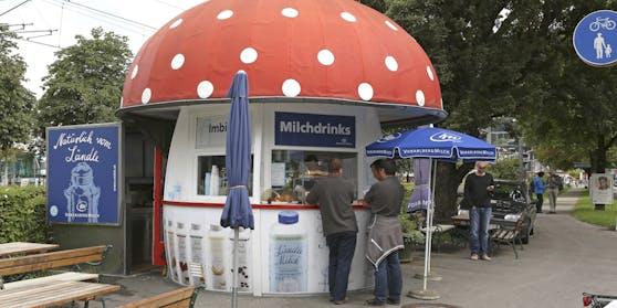 """Der """"Milchpilz"""" in Bregenz"""