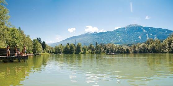 Am Lanser See hat man den perfekten Blick auf Innsbrucks Hausberg, den Patscherkofel.