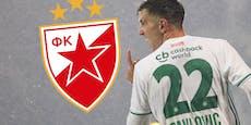 Serbien-Klub angelt nach Rapid-Flop Pavlovic