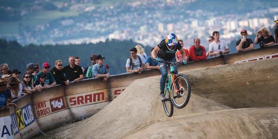 Besonders sportlich geht's im Bikepark Innsbruck zu, der nur wenige Kilometer vom Stadtzentrum entfernt liegt.