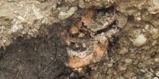 Skelett bei BMW-Gelände in St. Pölten entdeckt