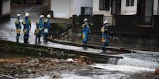 Dutzende Tote nach schweren Unwettern in Japan