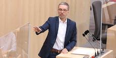 """""""Weich wie Schwamm, Nehammer ist SpongeBob der Politik"""""""