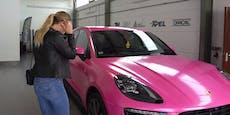 Cathy Lugner nach Porsche-Crash sauer auf die Polizei