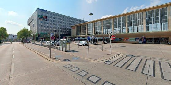 Blick auf den Europaplatz vor dem Wiener Westbahnhof. Symbolbild