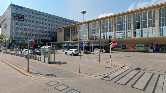Der Vorfall ereignete sich am Westbahnhof.