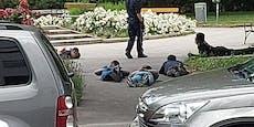 Polizei stoppt Messer-Massaker in Gemeindebau