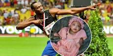 Supersprinter Bolt gibt süßer Tochter kuriosen Namen