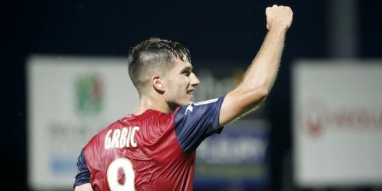 Adrian Grbic heuert bei Lorient an.