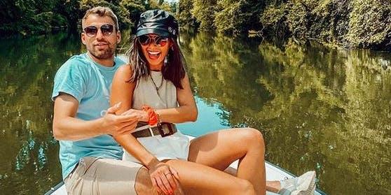 Seit Anfang des Jahres sind Sarah Lombardi und der Fußballer Julian Büscher ein Paar.