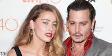 Johnny Depp pinkelte Heards Namen an die Wand
