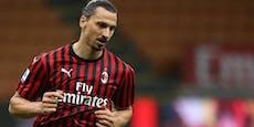 Zlatan Ibrahimovic kündigt sein Karriere-Ende an