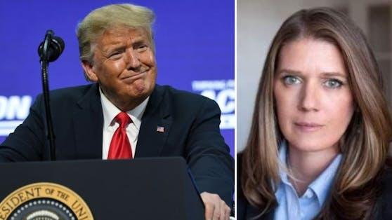"""US-Präsident Donald Trump wird von seiner Nichte Mary als """"gefährlichster Mann der Welt"""" bezeichnet."""