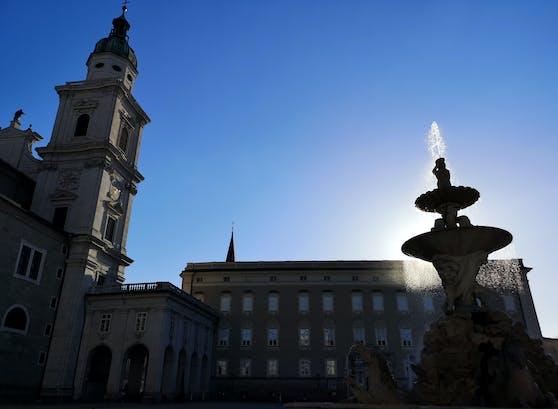 Salzburger Residenzplatz