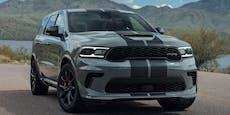 Höllischer Fahrspaß garantiert: Durango SRT Hellcat