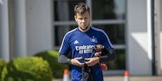 Aus bei HSV und Köln! Ex-Rapidler Schaub auf Klubsuche