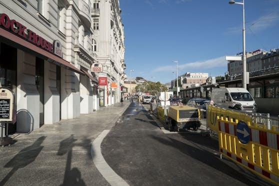 Im Bereich der Linken Wienzeile 4 kam es zum Zusammenstoß zwischen Fußgängerin und Radfahrer (Archivbild).
