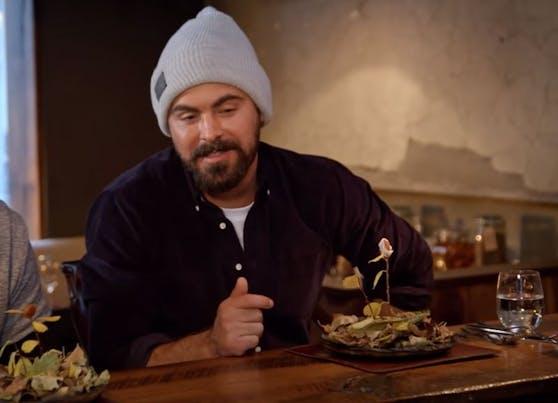 Zac Efron auf kulinarischen Abwegen.