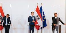 Kurz verkündete neuen Corona-Plan für Österreich