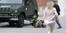 Soldat kollabiert, Ministerin eilt sofort zu Hilfe