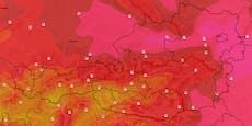 Hitze-Welle mit bis zu 35 Grad rollt über Österreich
