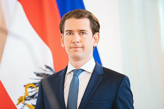 Bundeskanzler Sebastian Kurz (ÖVP).