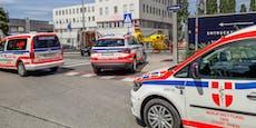 Zwei Arbeiter in Leopoldstadt von Bauteilen getroffen