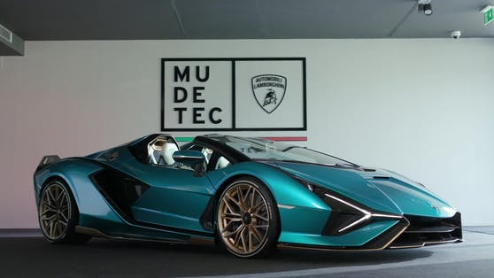 Der neue Lamborghini Sián Roadster