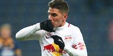 Neuer Klub für Ex-Salzburg-Torjäger Soriano