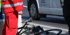 Mopedfahrer lachte verletzten Radler nach Crash aus