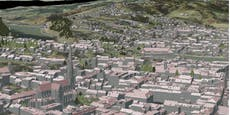 3D-Stadtplan: Im Wohnzimmer durch ganz Linz