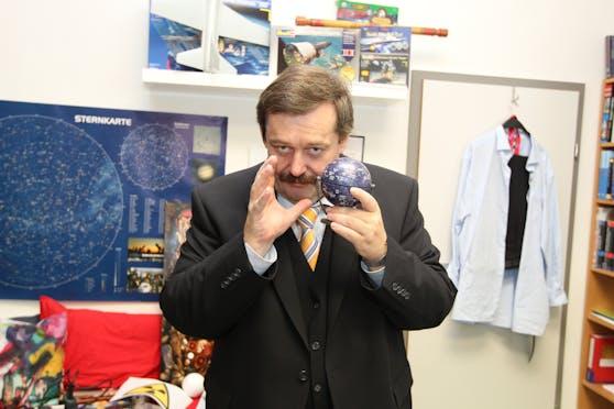 Werner Gruber ist Direktor im Wiener Planetarium.
