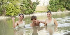 Wiener baden heuer auch im Donaukanal