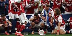 Arsenal-Stars zerstören FA-Pokal noch vor der Party